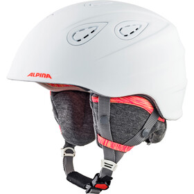 Alpina Grap 2.0 L.E. Casque de ski, white-flamingo matt